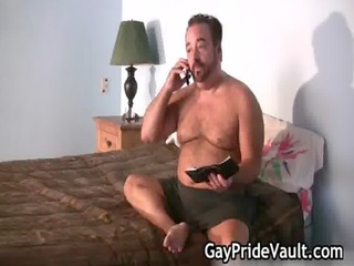 pale boy is fucked by gay bear gays