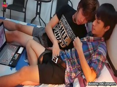 asian twinks obtaining extremely impressive after