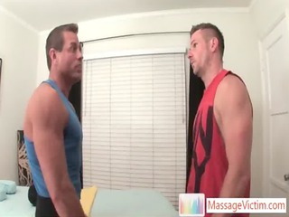 park wiley obtains the massage of his life gay sex