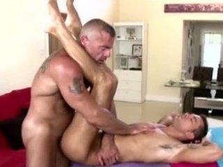 gay straight massage desk gang bang