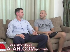 infantry specialist marco and old airman zach