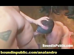 two men own used and abused inside a outside