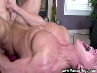 gay stud acquires his anal plowwed by gay jocks