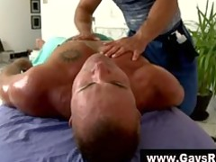 straight guy acquires played with during massage