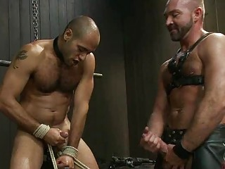 thin gay fucker tortured by his desperate master