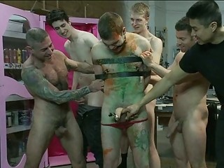 gay studs dick tortured