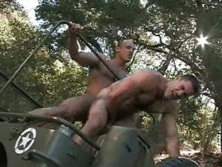 filthy military men having gay porn