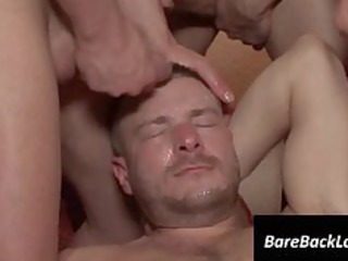 gay gets facialized in groupsex