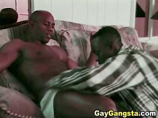 two dark gays fucking