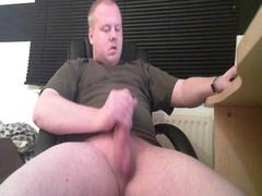 naughty redheaded jerking the tail