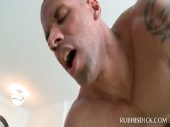 brown masseur acquires ass drilled by clean horny