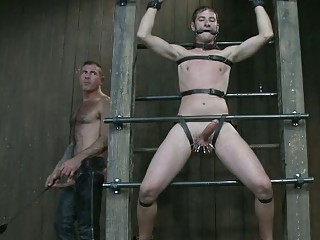 sinful gay guy had chained and tortured