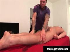 hot and horny fucker gets the massage gay fuck
