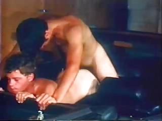 gay vintage porn into a convertible 2