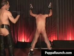 nasty kinky gay gets bondage and takes