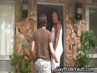 busty gay bear drilling and licking part4