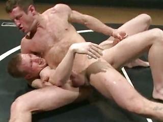 nude gay twinks inside insane wrestling match