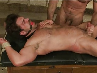 awesome gay man had tied up and gagged