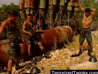 army twinks having brutal gay fuck