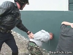gay bears obtaining arrested and fucked