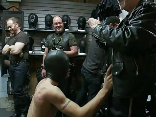 gay stud worships to be humiliated and dominated