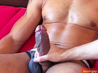 arab boy very stretched and large dick taking