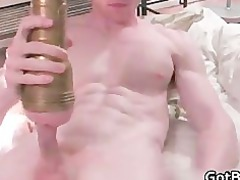 thin hunk making himself sperm by gotbf part2