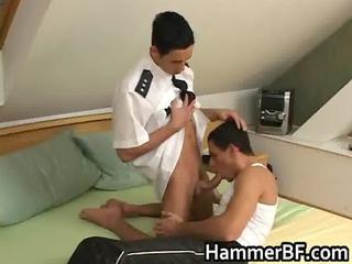 guy takes his taut hirsute anus rimmed gay boys