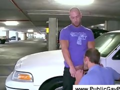 tattooed stud explores a guys butthole
