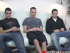 beautiful cj, austin and damien gay threesome
