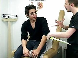hot looking gay guy visits his horny nurse
