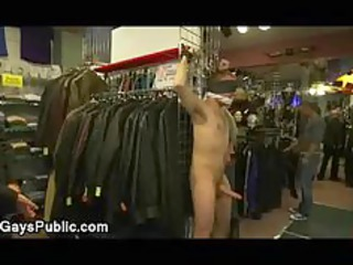 bound gay flogged and large dick sucked by