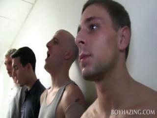 gay freshers stripping inside public