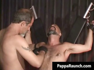 dirty horny gay takes bondage and acquires