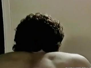 vintage twink gay bare bottom spanking