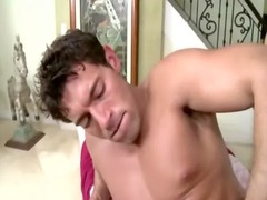 straight fellow banged hard by gay