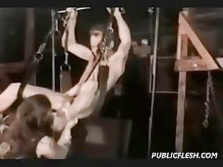 classic gay bondage and fingering