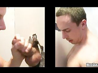 gay studs banging at the gloryhole