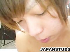 two japanese studs enjoying each others shape