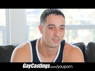 gaycastings uncut guido acquires cock for initial