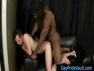 hunky ebony dude with dreads obtaining sucked by