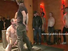 sado maso gay sex slave abused into obsess taut