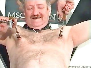 gay bondage with uneasy  nip enjoy