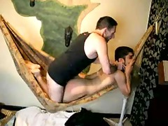coarse white dad drills papi gullet and wazoo