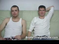 awesome and horny hetero men having gay fuck part2