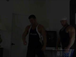 gay wrestling hunks