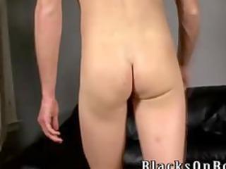 gay twink interracial bunch  licking dick