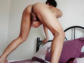 asian gay boy kai on masturbation
