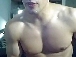 perky institute gay stud exposes his fully showed