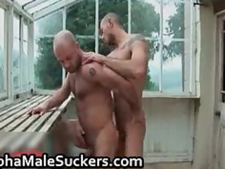 hot alpha males into gay piercing part4